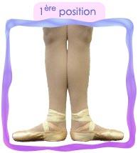 1ère position danse classique