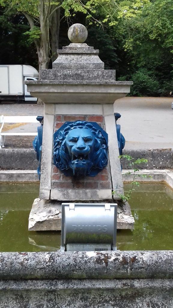 Septentrion - Fontaine des Lions