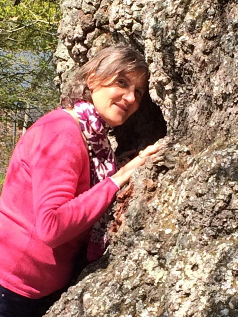 Corinne et Chêne 1000 ans - Brocéliande